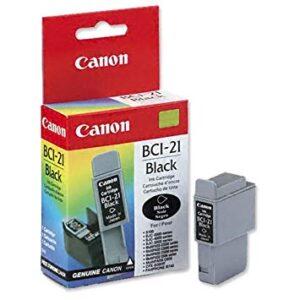 Canon BCI-21BK musta tulostuskasetti EOL