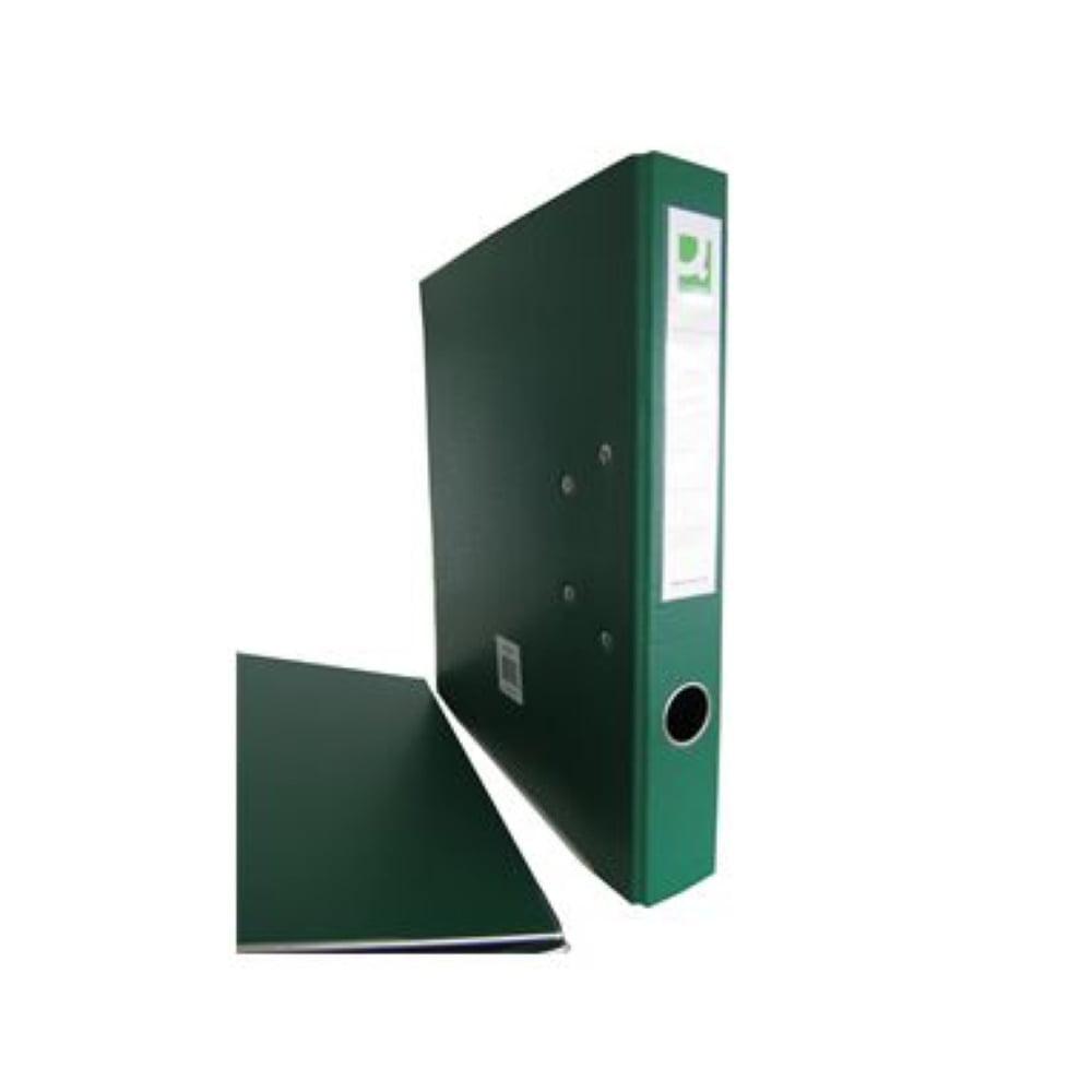 Mappi Q-Connect+ 5cm A4 metallivahvike vihreä