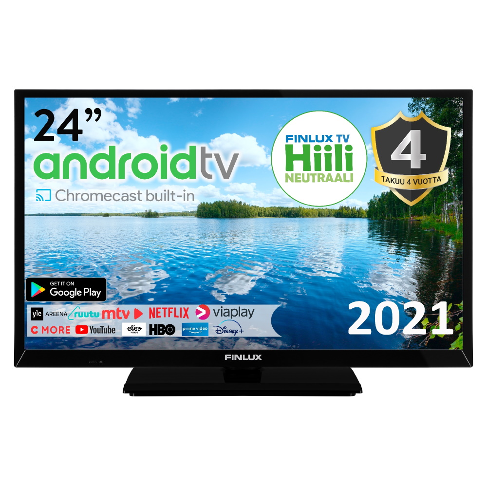 FINLUX 24″ ANDROID SMART-LED-TELEVISIO