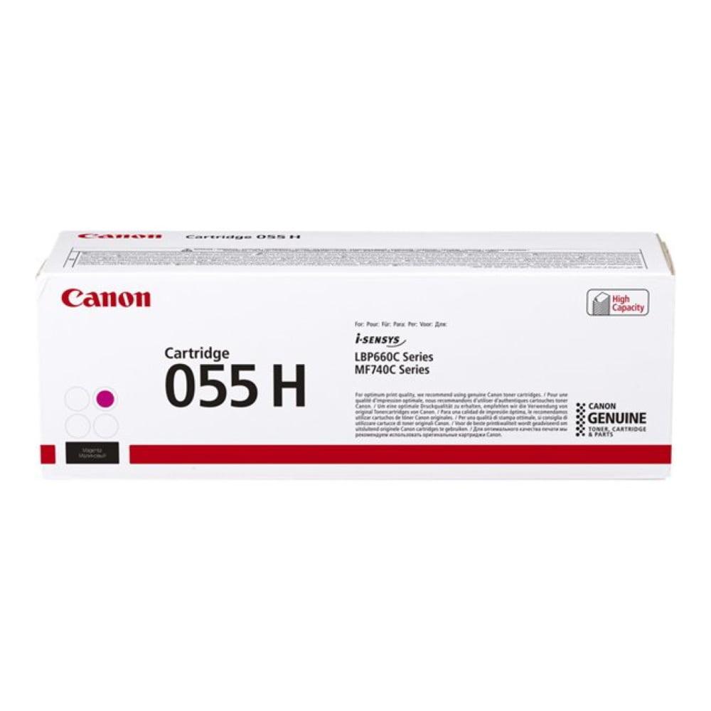 CANON 055H punainen suurtuotto lasertulostuskasetti