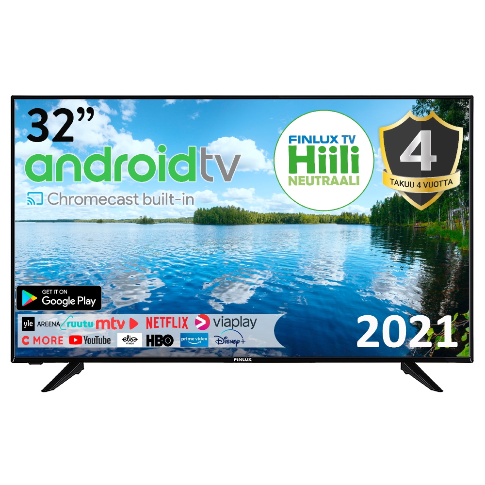 FINLUX 32″ ANDROID SMART-LED-TELEVISIO