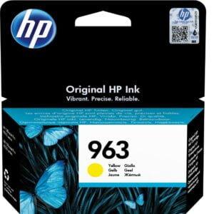 HP 963 keltainen tulostuskasetti