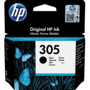 HP 305 musta tulostuskasetti alkuperäinen