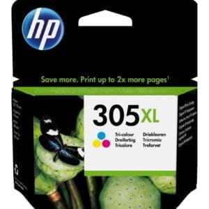 HP 305XL kolmiväri tulostuskasetti alkuperäinen