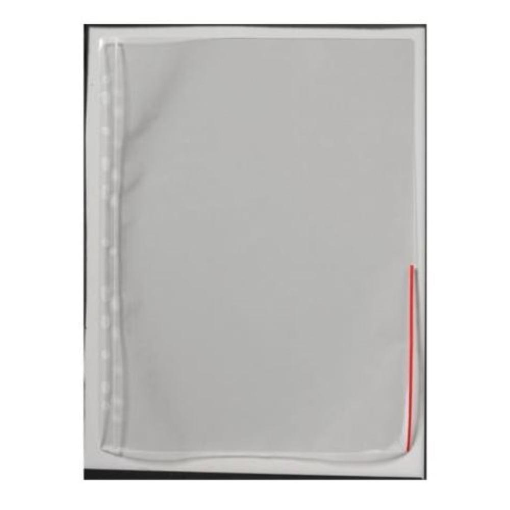 Signaalitasku A4 PP 120mic punainen (100 kpl)