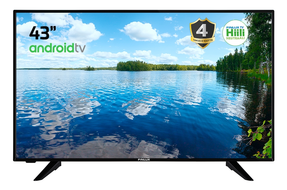 FINLUX 43FAE9060 43″ 4K ANDROID SMART LED-TELEVISIO