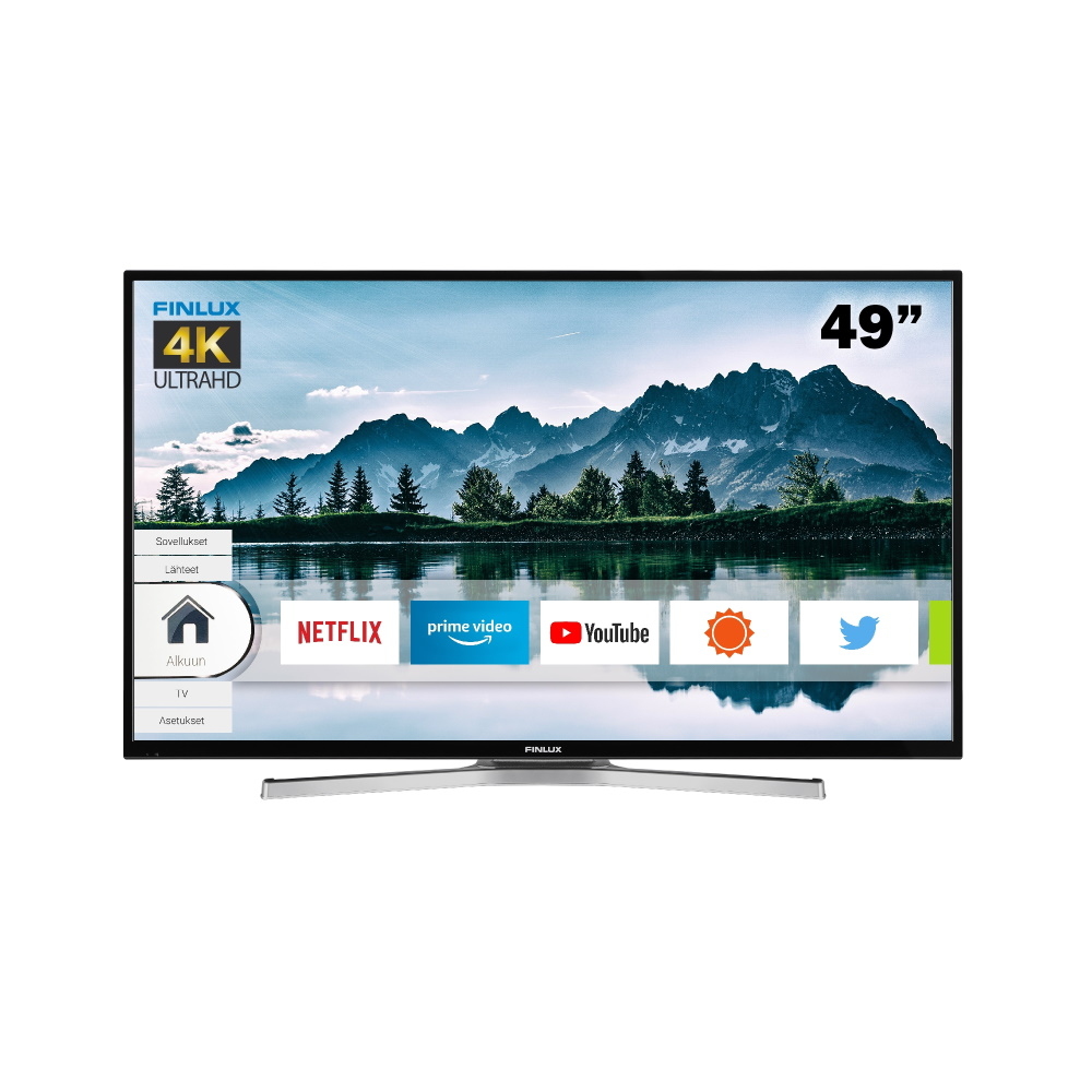 FINLUX 49″ 4K UHD SMART LED-TELEVISIO