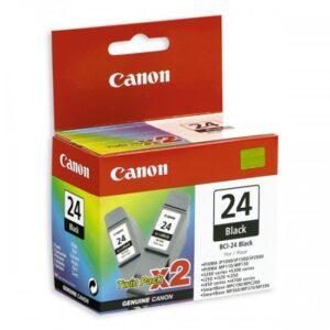 Canon BCI-24BK Twin-pack mustat tulostuskasetit EOL