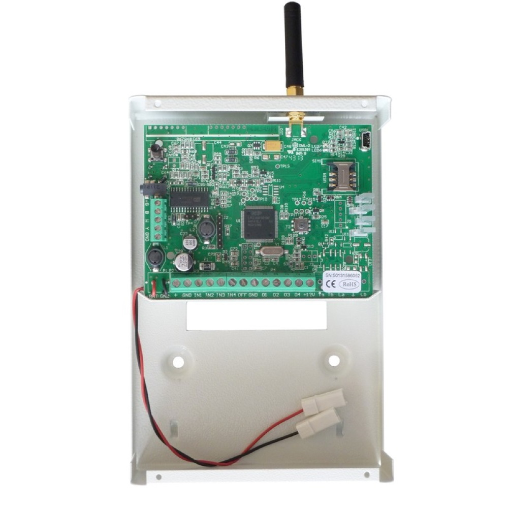 Zeus4-VD 3G GSM robottipuhelin hälytyksensiirtoon
