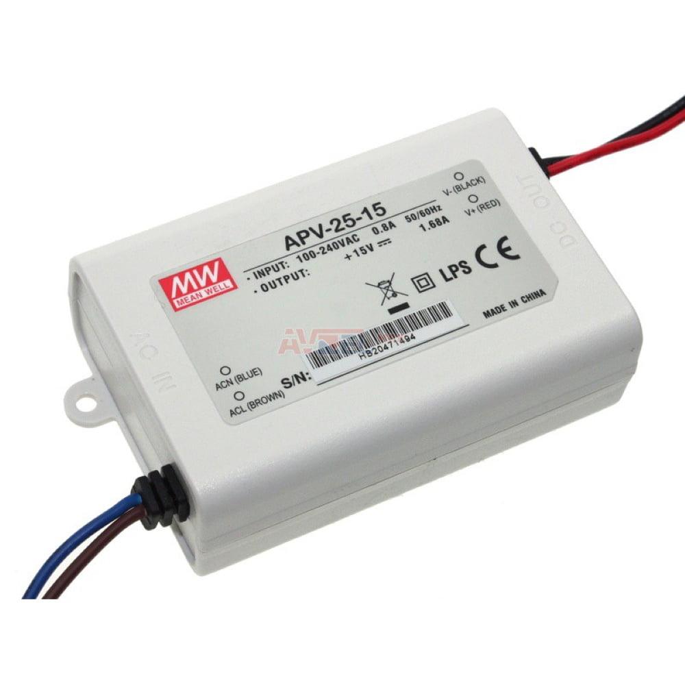 MW 15168 Virtalähde 15VDC 1,68A