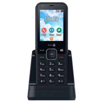 Doro 7001H 4G kotipuhelin musta