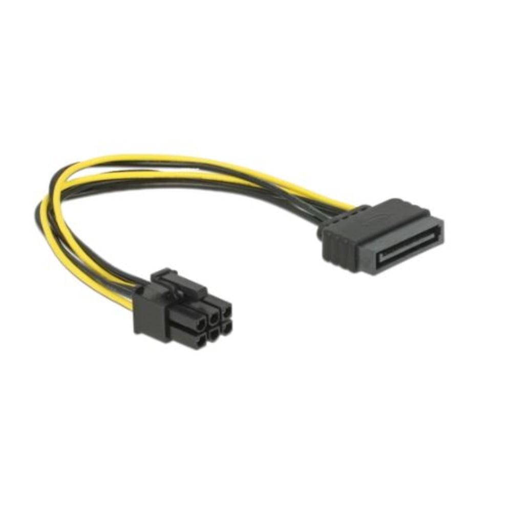 Delock Cable Power SATA 15pin-6pin PCI Express