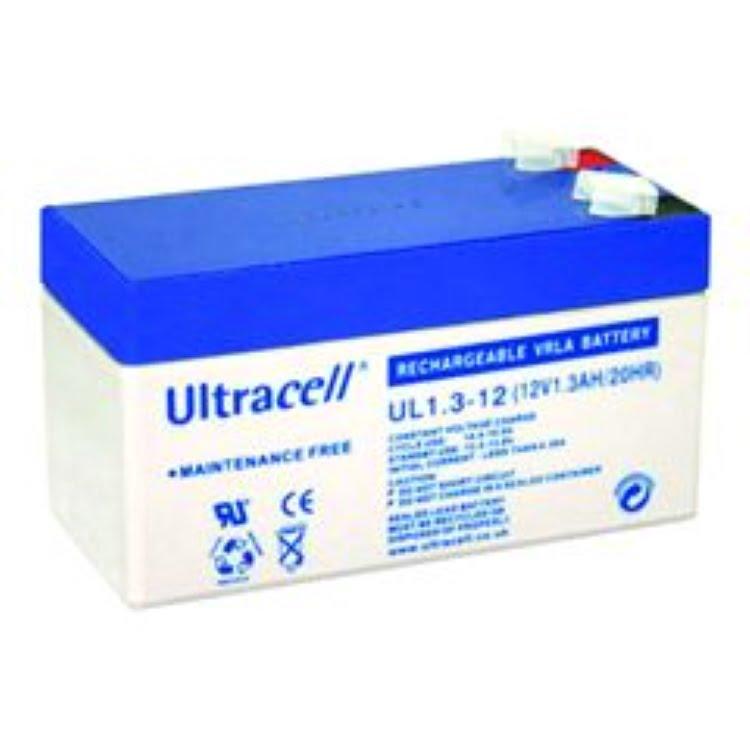 Ultracell UL1.3-12 suljettu lyijyakku