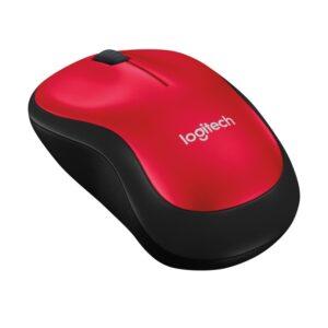 LOGITECH M185 punainen langaton hiiri