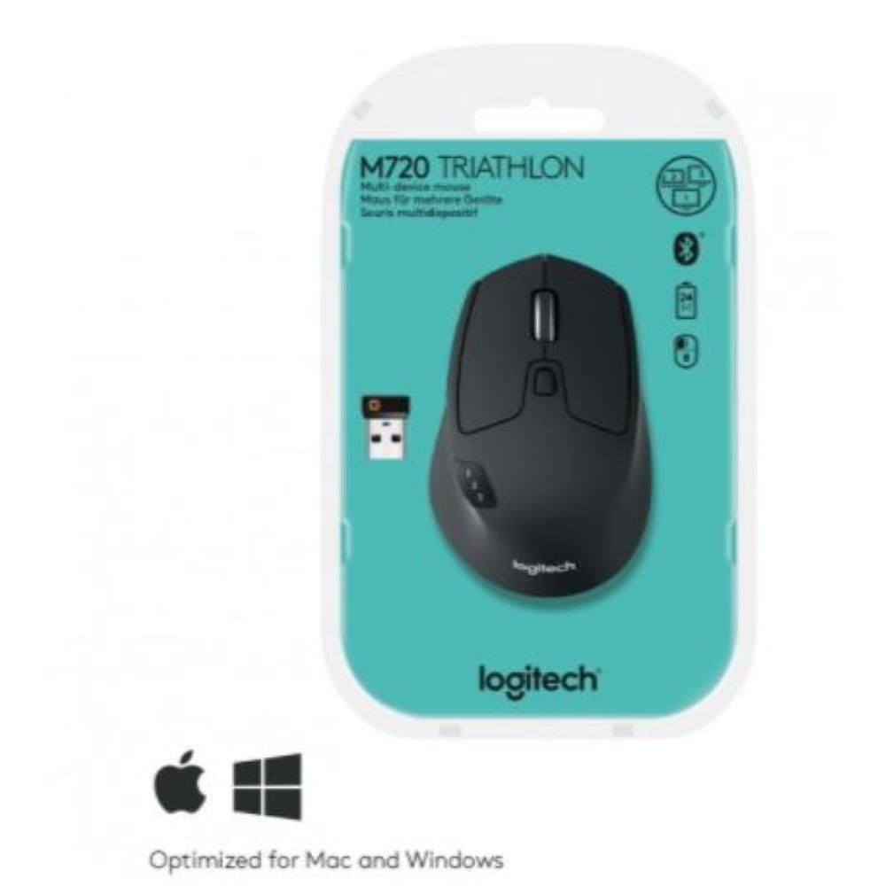 LOGITECH M720 Triathlon Mouse Langaton BT