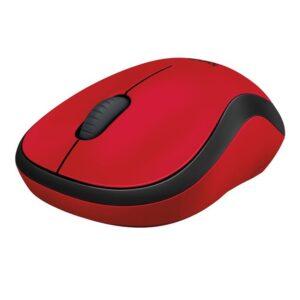 LOGITECH M220 Silent Red langaton hiiri