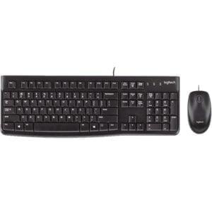 Logitech Desktop MK120 langallinen näppäimistö/hiiri paketti