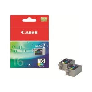 Canon BCI-16 alkuperäinen kolmiväri tulostuskasetti