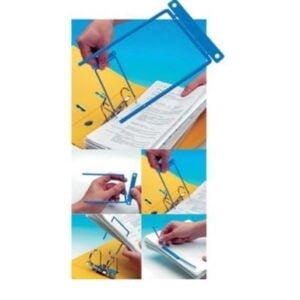 Arkistohaarukka F-binder 8 cm sininen (100 kpl)