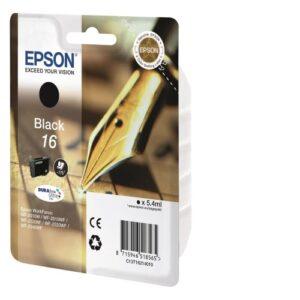 Epson 16 musta tulostuskasetti