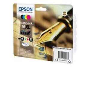 Epson 16XL monipakkaus (BK/C/Y/M)