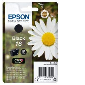 Epson 18 musta tulostuskasetti