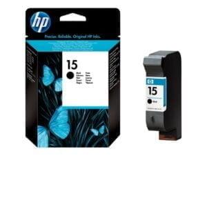HP 15 musta tulostuskasetti