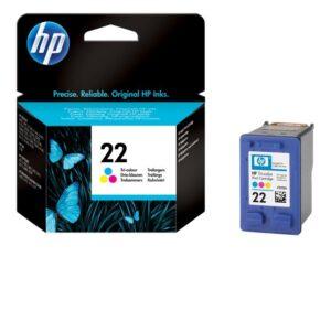 HP 22 moniväri tulostuskasetti