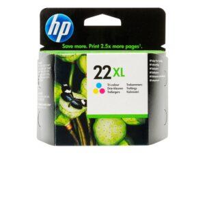 HP 22XL kolmiväri tulostuskasetti