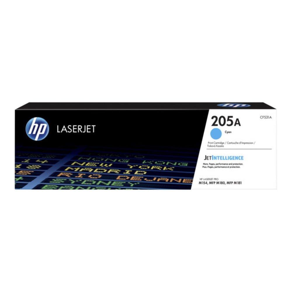 HP CF531A (205A) sininen lasertulostuskasetti