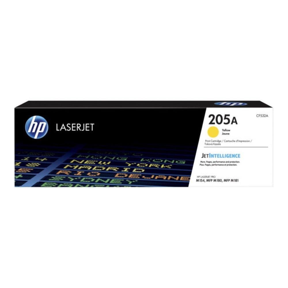 HP CF532A (205A) keltainen lasertulostuskasetti