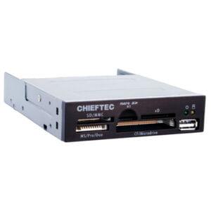 Chieftec CRD-501D sisäinen 3.5″ muistikortinlukija