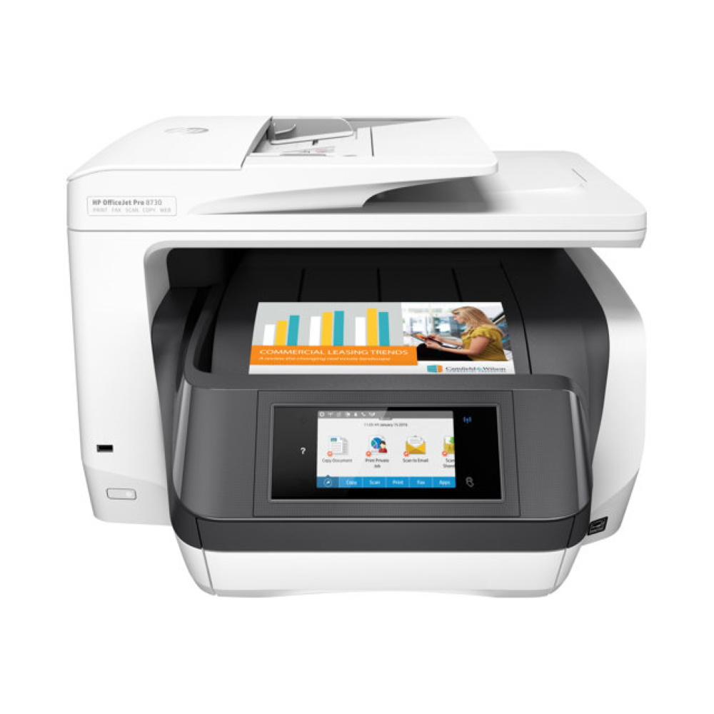 HP OfficeJet Pro 8730 monitoimitulostin