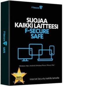 F-SECURE SAFE (1 vuosi/3 laitetta)
