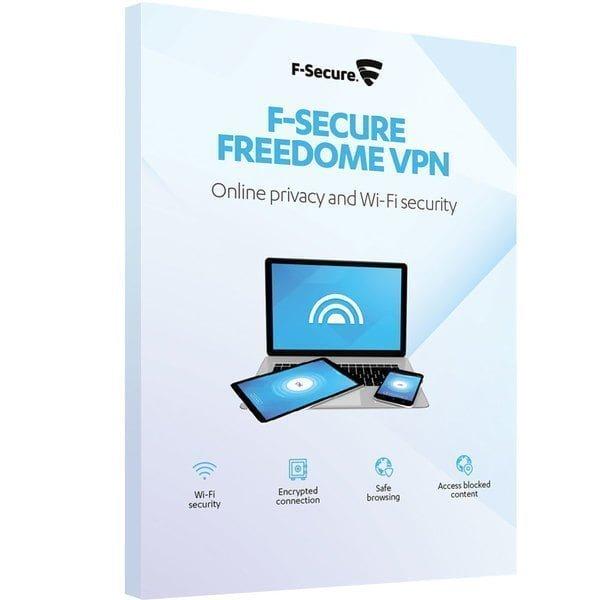 F-Secure Freedome (1 vuosi/3 mobiililaitetta) ESD