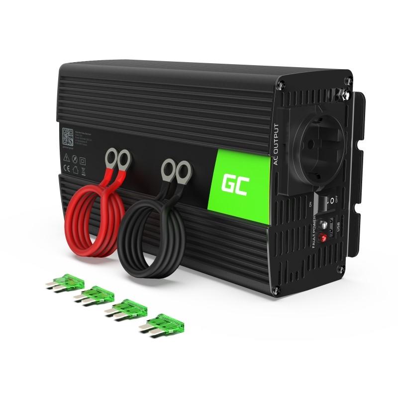 Green Cell car inverter 12V to 230V 1000W/2000W