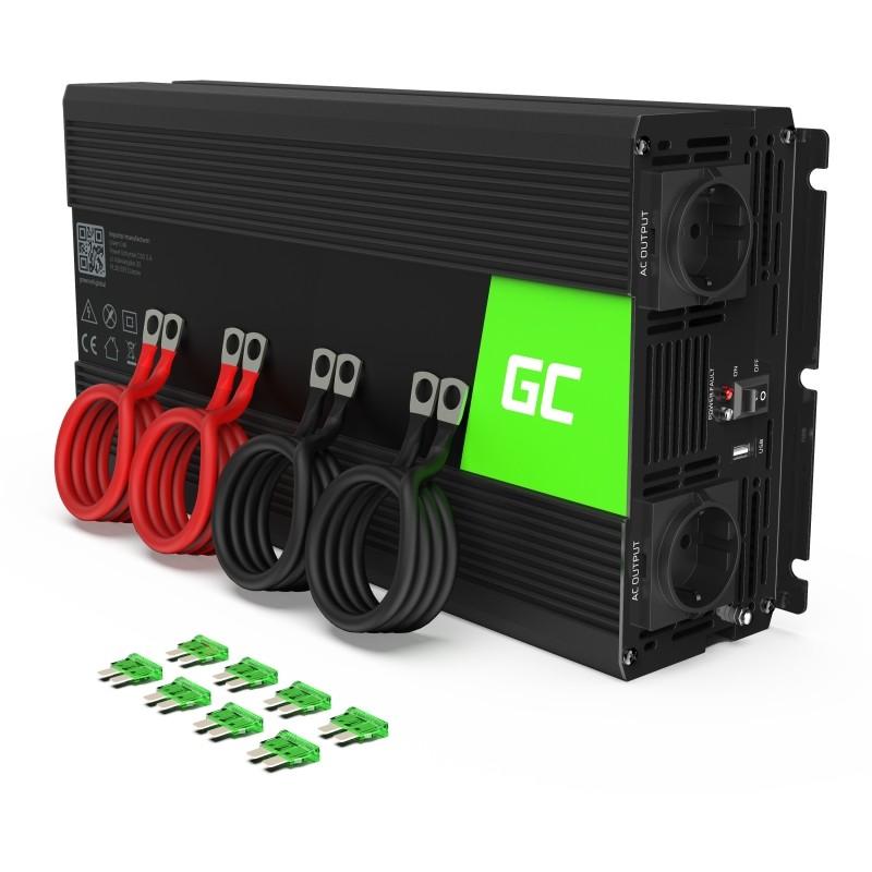 Green Cell car inverter 12V to 230V 2000W/4000W