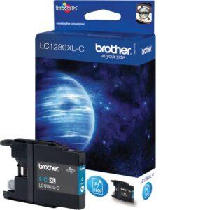 Brother LC1280XLC sininen tulostuskasetti