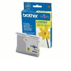 Brother LC970Y keltainen tulostuskasetti