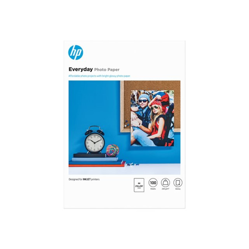 HP Everyday Fotopaper Glossy A4 170g/m² (100)