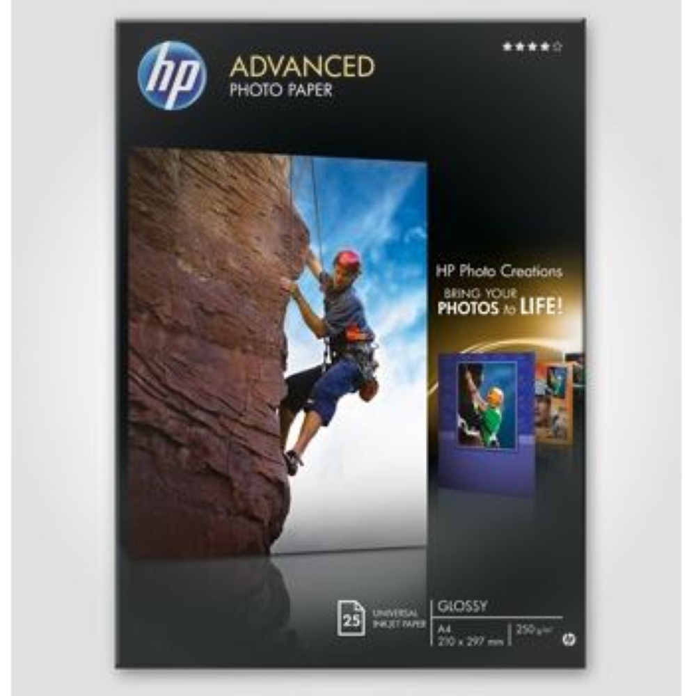 HP Advanced Photo paper glossy A4 250g/m2 (25)