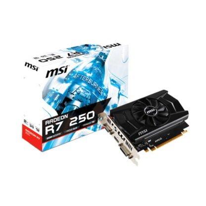 MSI Radeon R7 250 2GB -näytönohjain 2