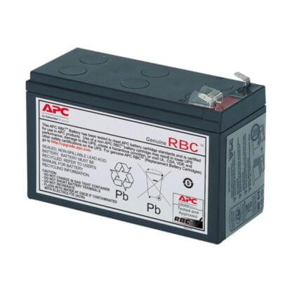 APC 110 UPS-varavirtalähteen vaihto akku
