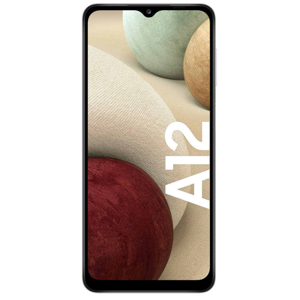SAMSUNG GALAXY A12 DUAL-SIM WHITE 64GB