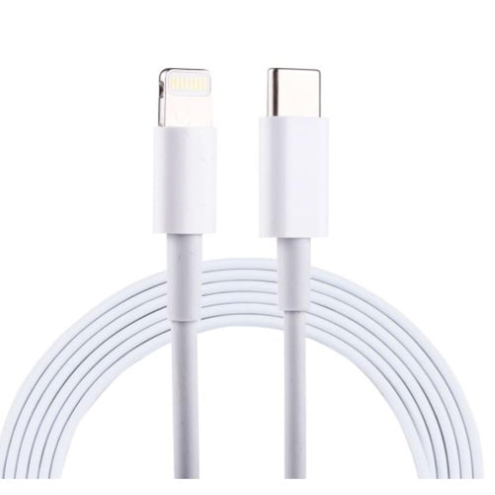 1m USB-C/Lightning kaapeli valkoinen