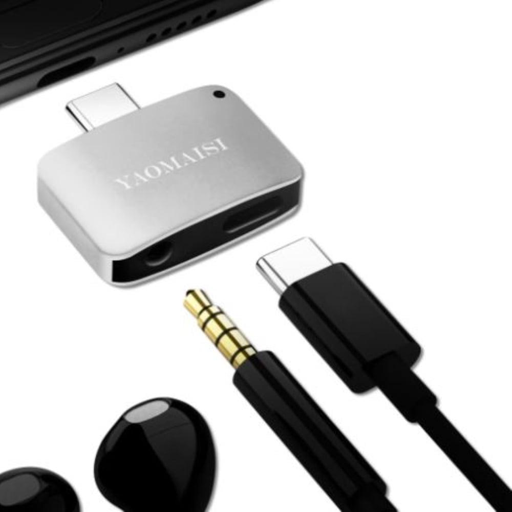 Yaomaisi Q15 USB-C lataus+ääni adapteri