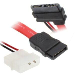 2-pin IDE+7-pin SATA – 13-pin (7+6) SATA, 45cm