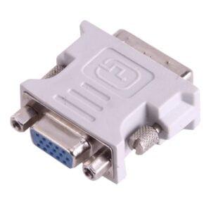 DVI-I uros – VGA naaras adapteri