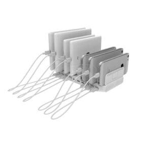 10-porttinen USB-latausasema 2,4A 96W