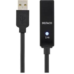 PRIME USB 2.0 aktiivinen jatkokaapeli 15m